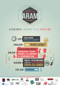 ARAM Afiša web