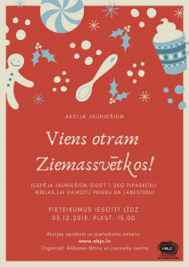 Viens otram Ziemassvētkos! plakāts