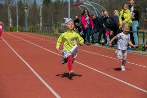 Zaķu skrējiens 2019, Alūksnes pilssalā